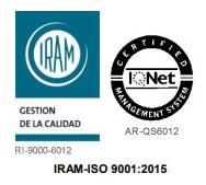 IRAM es el Instituto Argentino de Normalización y Certificación.